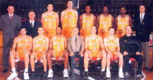 1999/2000 Limoges CSP Roster