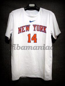 2017/2018 New York Knicks Willy Hernangómez Casual T-Shirt - Front