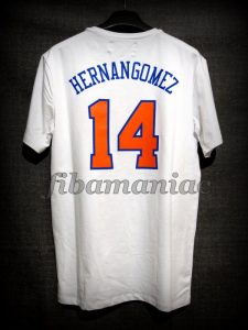 2017/2018 New York Knicks Willy Hernangómez Casual T-Shirt - Back