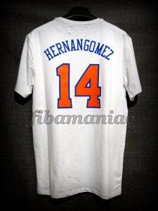 2017/2018 New York Knicks Willy Hernangómez Casual T-Shirt - Back