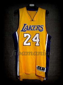 2016 Retirement Game Los Angeles Lakers Kobe Bryant Jersey - Front