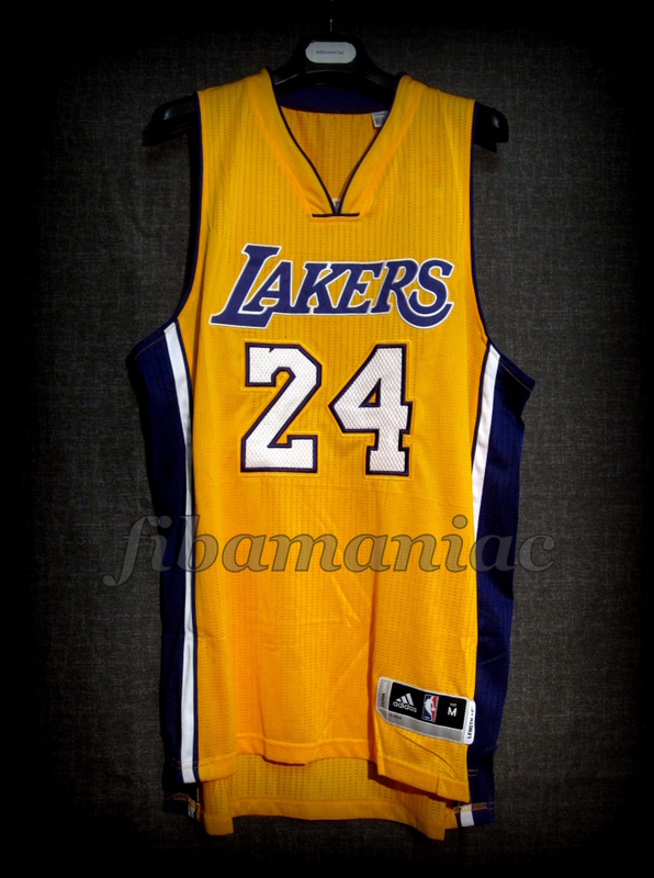 4da642e91210 2016 Retirement Game Los Angeles Lakers Kobe Bryant Jersey - Front