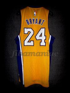 2016 Retirement Game Los Angeles Lakers Kobe Bryant Jersey - Back