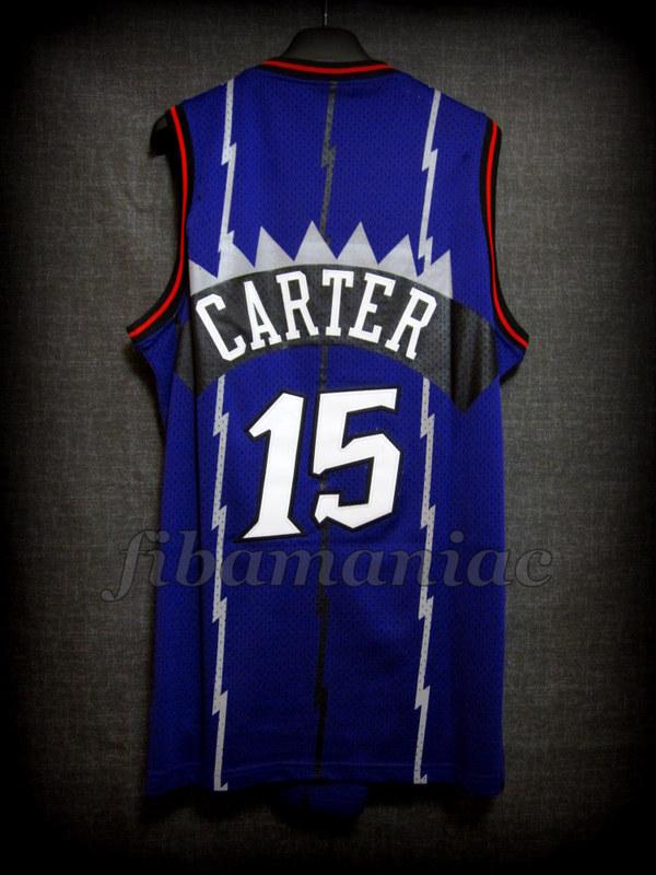 1999 NBA Rookie Of The Year Toronto Raptors Vince Carter Jersey