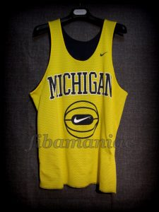 Late 90's Michigan Wolverines Training Jersey - Reverse