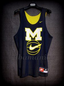 Late 90's Michigan Wolverines Training Jersey