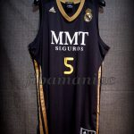 2012 ACB Runner-Ups Real Madrid Rudy Fernández Jersey - Front