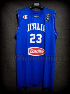2015 Eurobasket Italy Daniel Hackett Jersey Front - Issued & Signed