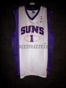 """2001/2002 Phoenix Suns Anfernee """"Penny"""" Hardaway Jersey - Front"""