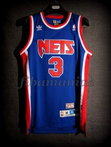 1993 All-NBA Third Team New Jersey Nets Drazen Petrovic Jersey - Front