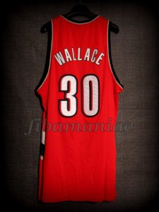 2001/2002 Portland Trail Blazers Rasheed Wallace Jersey - Back