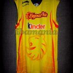 2006 U16 Eurobasket MVP Spain Ricky Rubio Training Jersey - Front