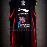 2006 U16 Eurobasket MVP Spain Ricky Rubio Training Jersey - Reverse Back