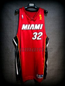 2006 NBA Finals Champions Miami Heat Shaquille O'Neal Alternative Jersey - Front