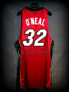 2006 NBA Finals Champions Miami Heat Shaquille O'Neal Alternative Jersey - Back