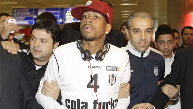 Iverson unleashing the madness with his arrival to Turkey