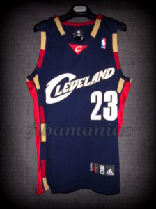 2007 1st Eastern Conference Championship Cleveland Cavaliers Lebron James Jersey - Front