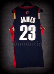 2007 1st Eastern Conference Championship Cleveland Cavaliers Lebron James Jersey - Back