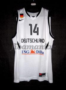 2011 Eurobasket Germany Dirk Nowitzki Jersey Front - Signed
