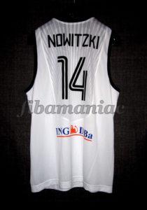 2011 Eurobasket Germany Dirk Nowitzki Jersey Back - Signed