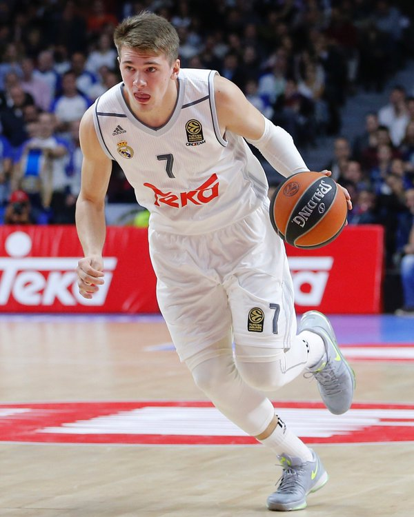 hot sales 833ee 58a83 2015/2016 First Euroleague Season Real Madrid Luka Doncic ...