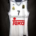 2015/2016 First Euroleague Season Real Madrid Luka Doncic Jersey - Front