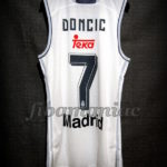 2015/2016 First Euroleague Season Real Madrid Luka Doncic Jersey - Back