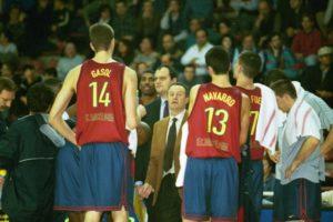 Two young teammates at the 2000 Euroleague Final Four: Pau Gasol and Juan Carlos Navarro