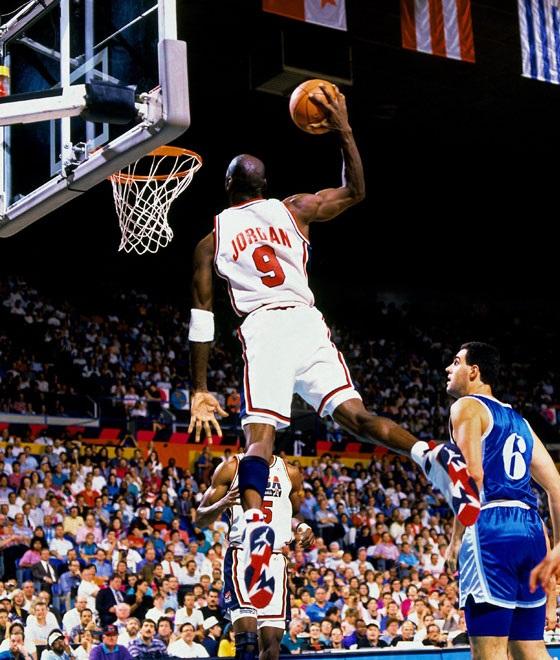 promo code 7f140 64948 Barcelona 1992 Olympic Games USA Basketball Michael Jordan ...