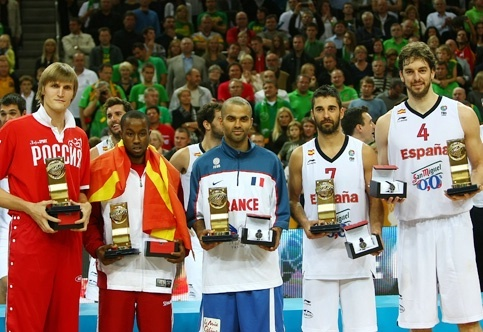 Bo leaded Macedonia at the 2011 Eurobasket and he was selected for the All- Tournament Team