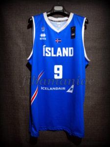 2017 Eurobasket Iceland Jón Arnór Stefánsson Jersey Front - MW