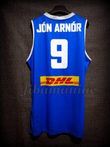 2017 Eurobasket Iceland Jón Arnór Stefánsson Jersey Back - MW