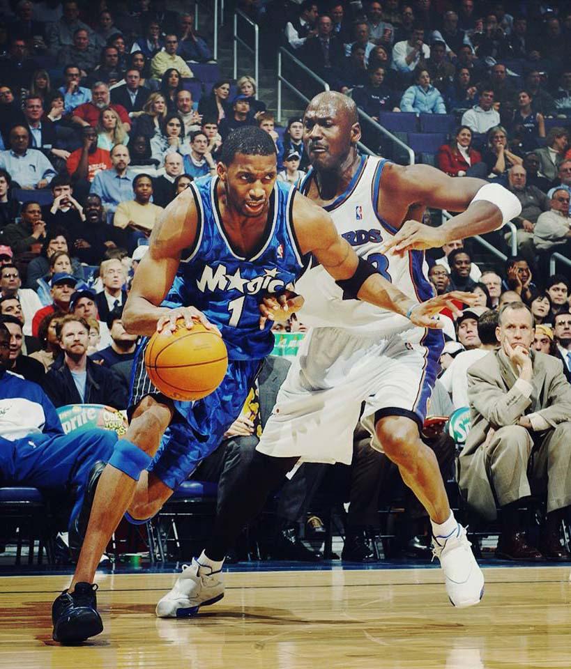 pick up e807c 56682 2003 NBA Scoring Champion Orlando Magic Tracy McGrady Jersey ...