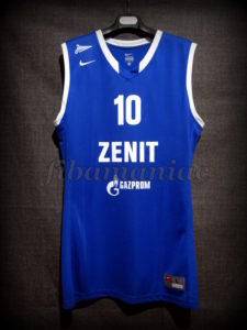 2015/2016 Eurocup Second Best Scorer Zenit Saint Petersburg Ryan Toolson Jersey - Front