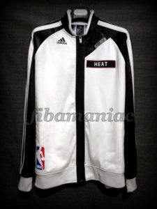 2014 NBA Finals Miami Heat Jacket - Front