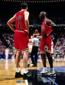 Toni & MJ in action with the Chicago Bulls