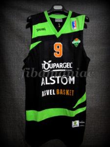 2011/2012 NBA Lockout Season Asvel Villeurbanne Tony Parker Jersey - Front