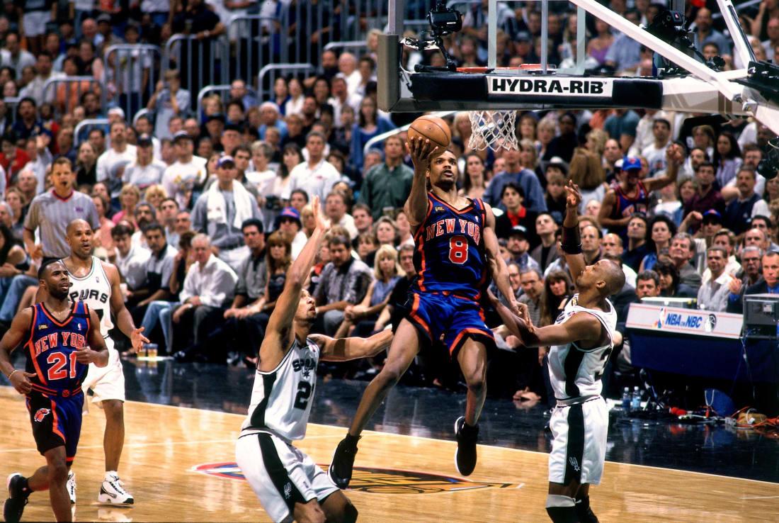 1999 NBA Finals New York Knicks Latrell Sprewell Jersey – FibaManiac