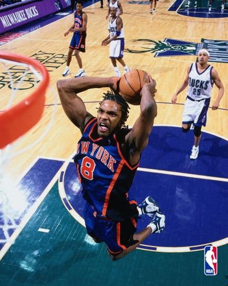 new styles 7b887 70db4 1999 NBA Finals New York Knicks Latrell Sprewell Jersey ...