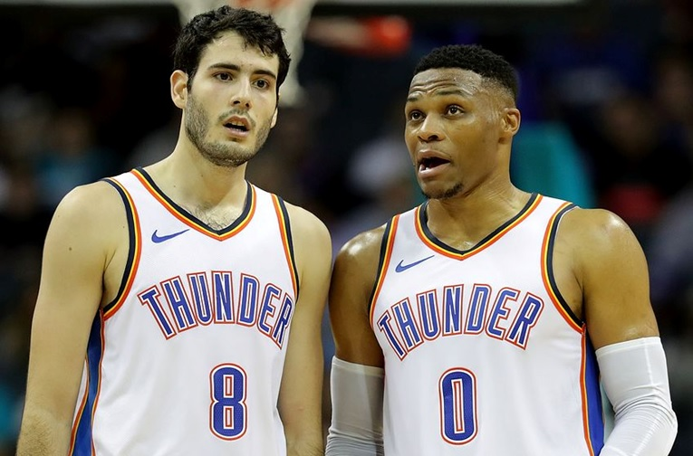 Years later Abrines was named the 2016 Euroleague Rising Star so he signed with the OKC Thunder for the following season