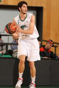 Abrines won the 2011 U18 Eurobasket MVP so Unicaja gave him the chance to debut with the first team wearing this jersey
