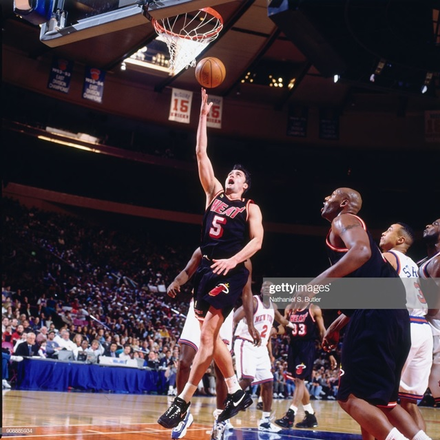 "Danilovic tried luck in the NBA and completed a great performance. However ""Sasha"" didn't like the lifestyle of the NBA and returned to the Virtus on 1997"