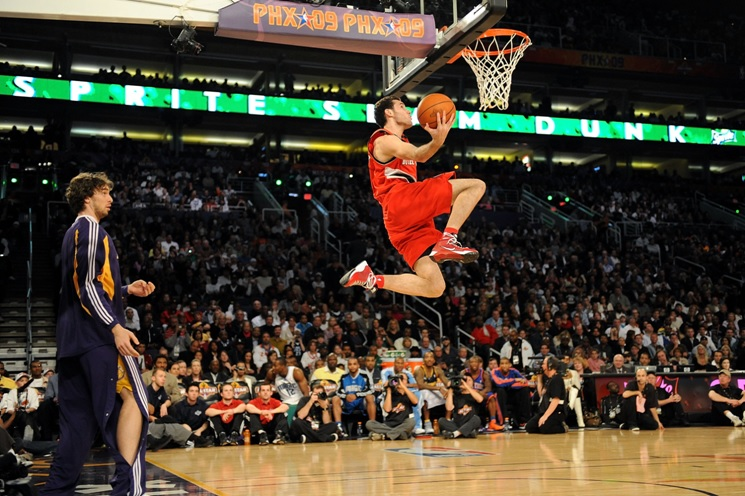 Rudy was also selected for the NBA Slam Dunk Contest that season