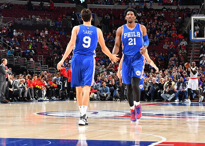 Dario Saric was selected for the 2017 NBA All-Rookie First Team and finished second in NBA Rookie of the Year voting behind Malcolm Brogdon