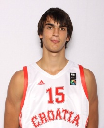 Saric used a same jersey at the 2011 U19 World Cup. On the other hand the jersey is a match worn item for sure but it haven't the FIBA patch so maybe it was used in a friendly game