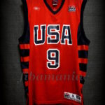 Athens 2004 Olympic Games USA Basketball Lebron James Jersey - Front