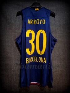 2015/2016 Euroleague FCBarcelona Carlos Arroyo Jersey - Back