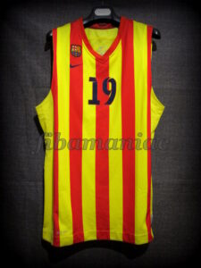 2013/2014 LEB Oro FCBarcelona B Alternative Jersey - Front