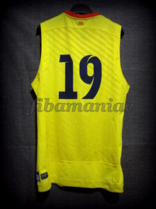 2013/2014 LEB Oro FCBarcelona B Alternative Jersey - Back