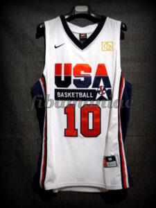 Chuck Daly Tribute Barcelona 2012 Pre-Olympic USA Basketball Kobe Bryant Retro Jersey - Front